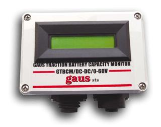 GAUS TRACTION BATTERY CAPACITY MONITOR