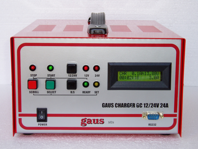 Gaus Charger GC12/24V24A_AGM