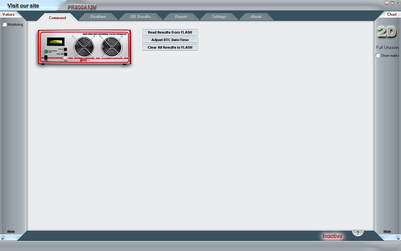 GUCS200V1000A Software