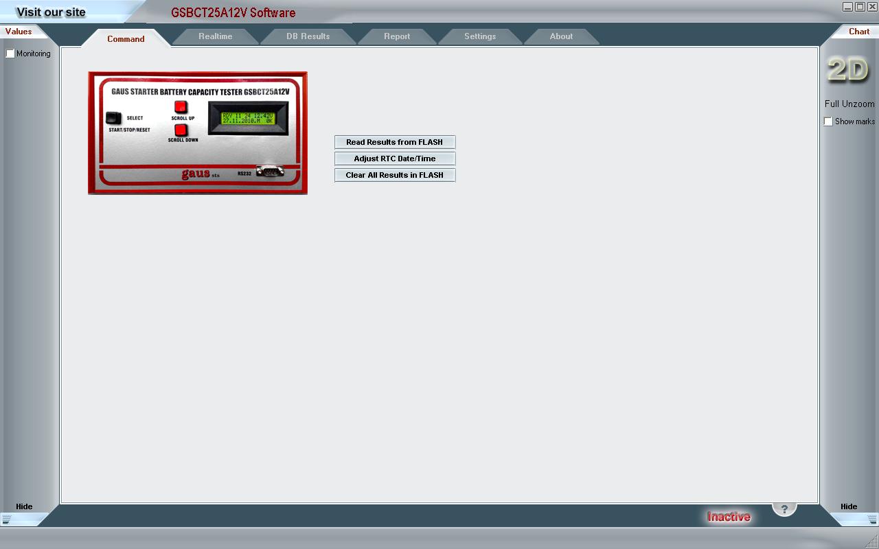 GSBCT80A6-12V Software